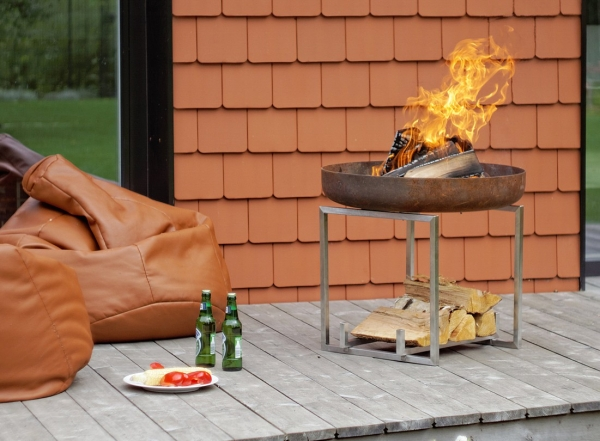 Set Fire Pit Nagliai + Gratar