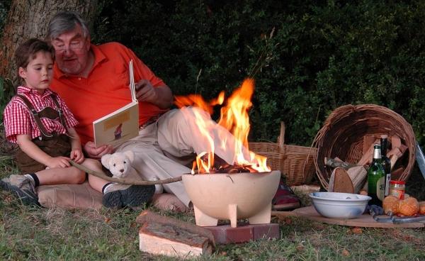 Bol ceramic pentru foc 1