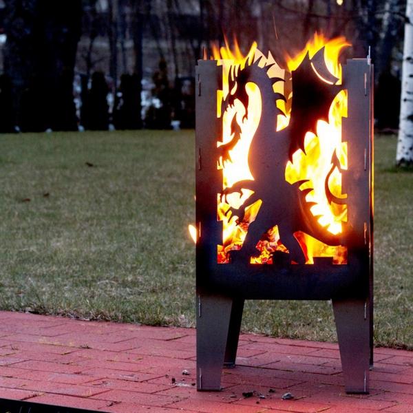 Fire Basket Dragon 0