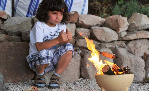Mini bol ceramic pentru foc 1