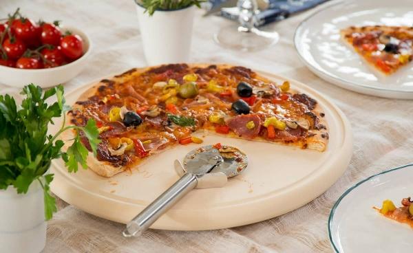 Tavă ceramică pentru pizza CeraFlam® 3