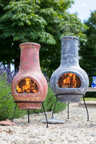 Șemineu exterior argilă Essentials 1