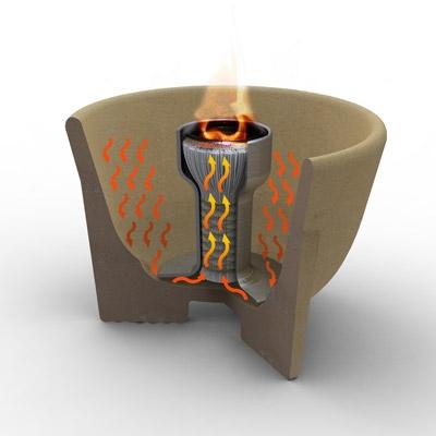 Sfesnic ceramic interior Granicium