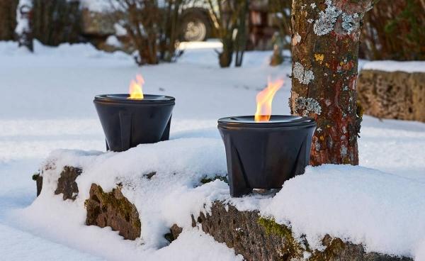 Sfesnic ceramic exterior CeraLava® Denk - Fire Deco